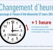 changement d'heure, à Brieres aussi