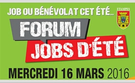 forum jobs d'été 2016