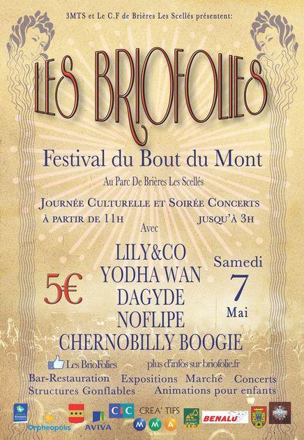 affiche des BrioFolies
