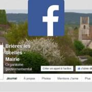 page facebook de brieres