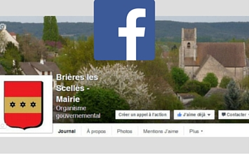 page facebook de brieres