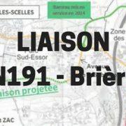 liaison Brières RD 191