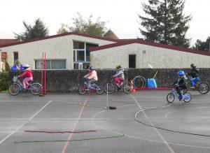 Prévention routière à l'école de Brières