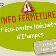 Fermeture de l'eco-centre de Brières