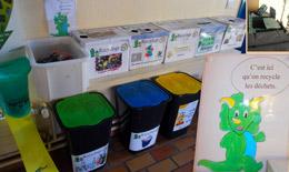 recyclage à l'école de Brières