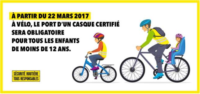 casque vélo obligatoire