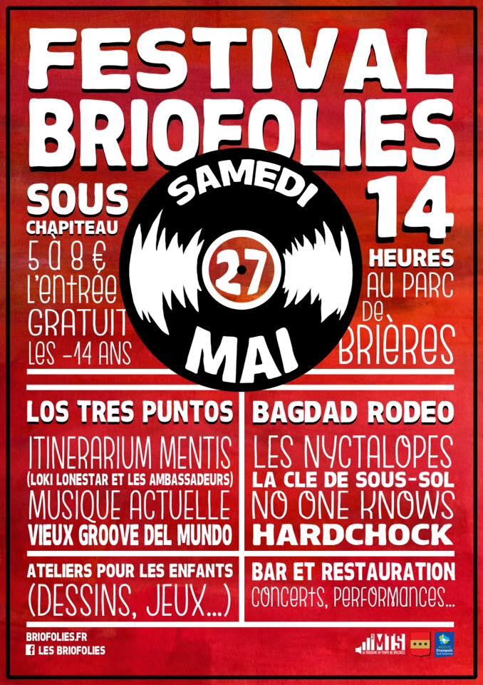 Affiche des BrioFolies 2017
