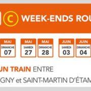 RER C week-ends rouges