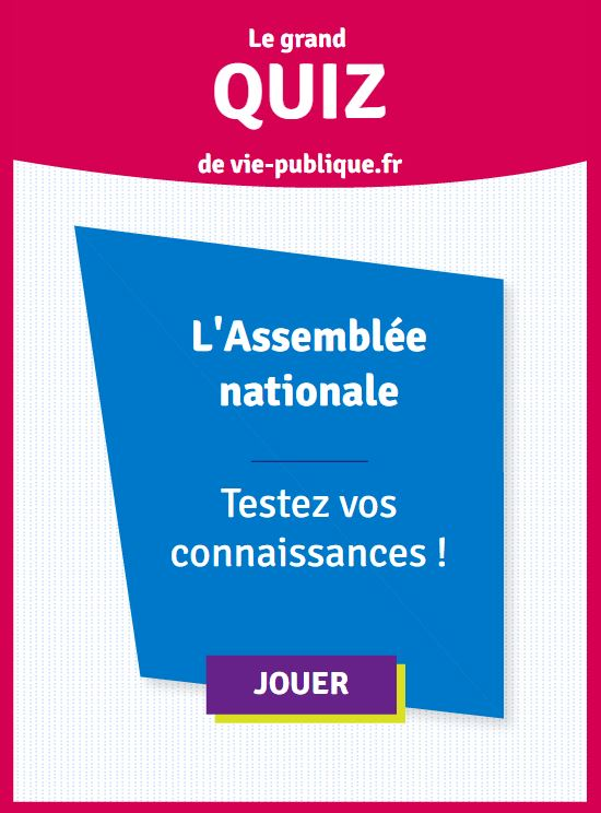 Quiz Assemblee Nationale