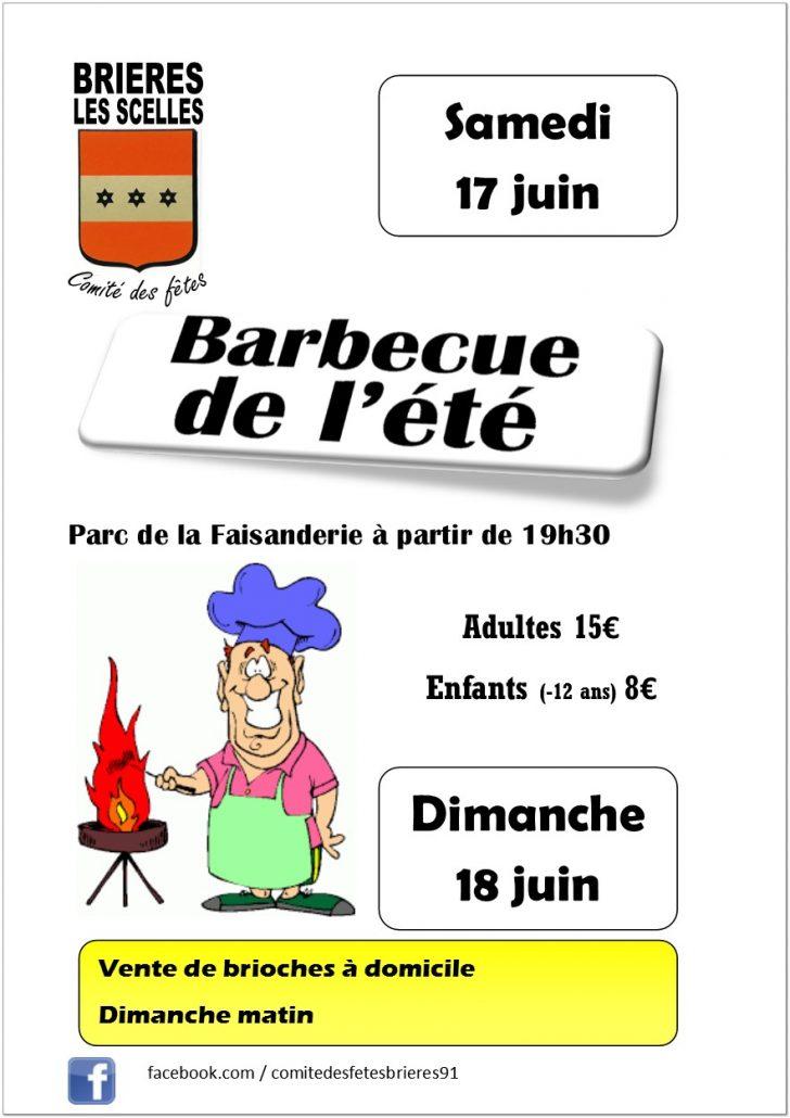 barbecue à Brières les Scellés 2017