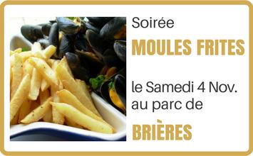 soiree moules frites à Brières