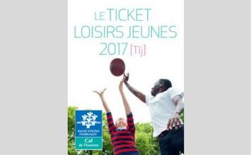 ticket loisirs jeunes CAF Essonne