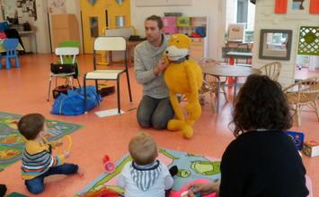 Eveil musical au Relais Assistants Maternels de Brières les Scellés