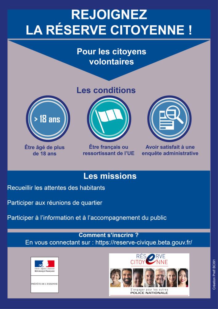 Affiche réserve citoyenne