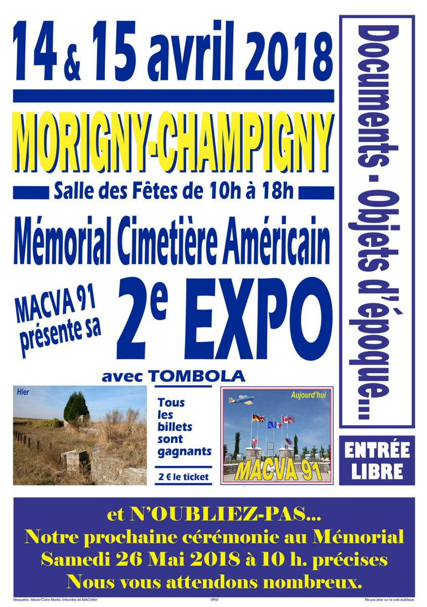 memorial américain Morigny Champigny