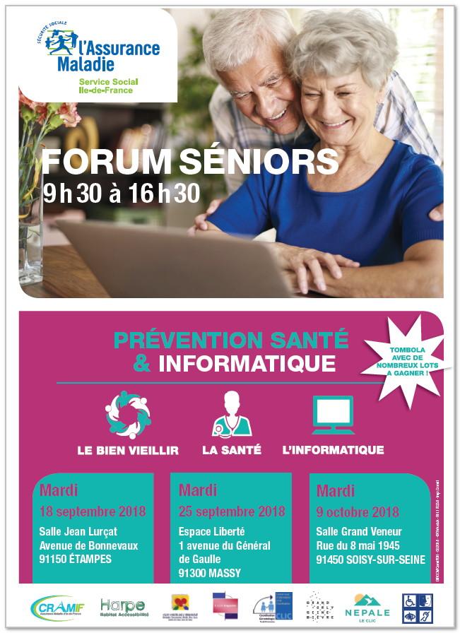 Forum seniors Etampes