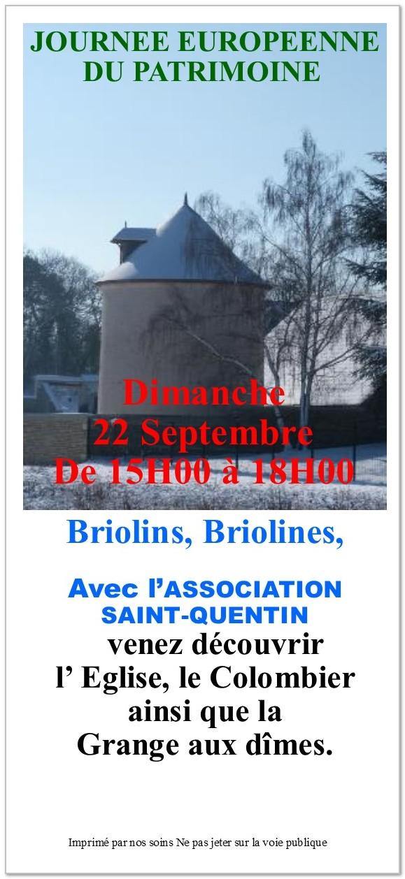 journee du patrimooine à Brières 2019