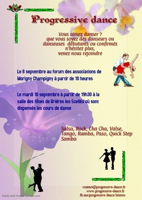 progressive dance à Brières