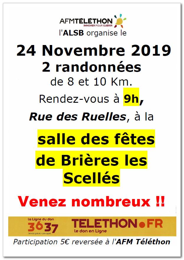 Téléthon Brières 2019