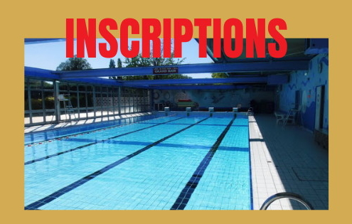 inscriptions piscine CAESE