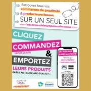 un service de « click & collect » sur son site Les Vitrines de l'Etampois Sud-Essonne