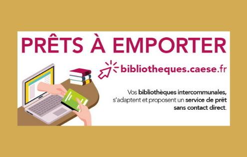 Le service « prêts à emporter » des bibliothèques de l'agglo