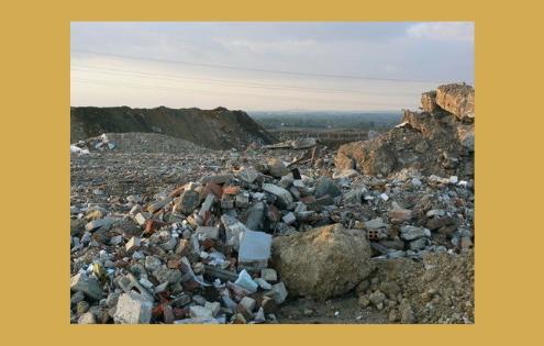 décharge déchets inertes