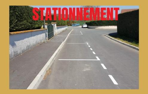 Nouveaux emplacements de stationnement à Brières