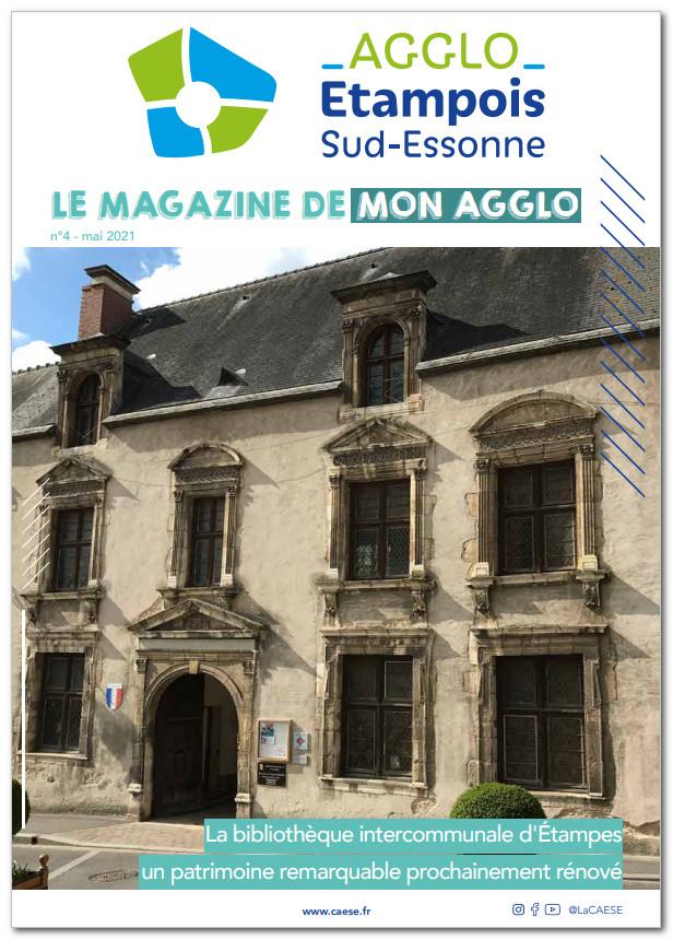 magazine de la Communauté d'Agglomération de l'Etampois Sud Essonne (CAESE)